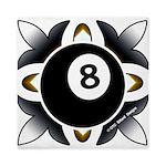 8 Ball Deco Queen Duvet