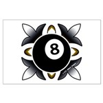 8 Ball Deco Posters