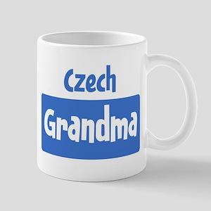 Czech grandma Mug