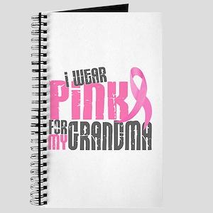 I Wear Pink For My Grandma 6.2 Journal