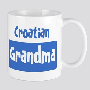 Croatian grandma Mug