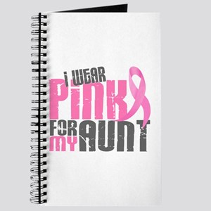 I Wear Pink For My Aunt 6.2 Journal
