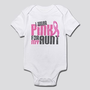 I Wear Pink For My Aunt 6.2 Infant Bodysuit