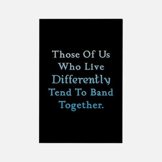 Those Of Us Twilight Rectangle Magnet