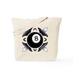 8 Ball Deco Tote Bag