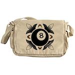 8 Ball Deco Messenger Bag