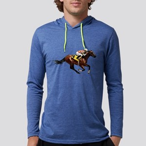 Race Horse Long Sleeve T-Shirt