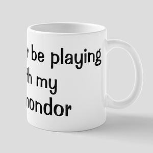 Be with my Komondor Mug