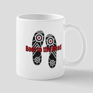 Bush Dodges Shoes Mug