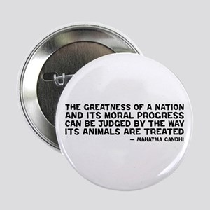 "Gandhi - Greatness of a Nation 2.25"" Button"