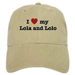 I Love my Lola and Lolo Cap