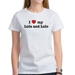 I Love my Lola and Lolo Women's T-Shirt