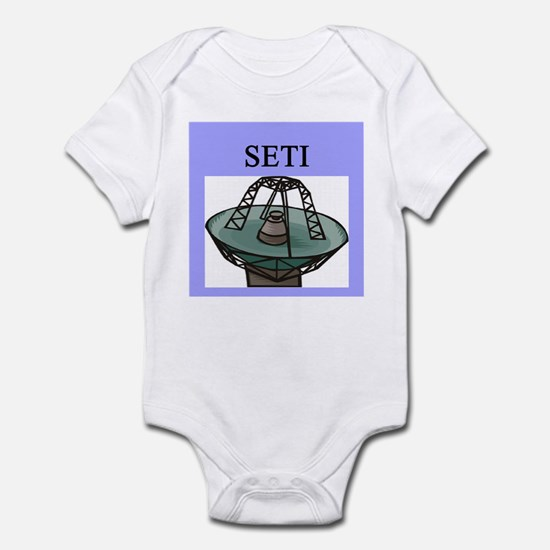 astronomy seti Infant Bodysuit