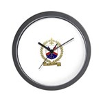 LENORMAND Family Crest Wall Clock
