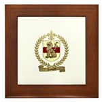 LEONARD Family Crest Framed Tile