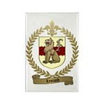 LEONARD Family Crest Rectangle Magnet (100 pack)