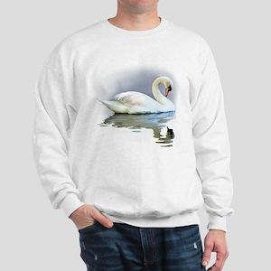 Swan Reflects Sweatshirt