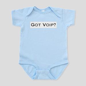Got VOIP? Infant Creeper