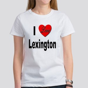 I Love Lexington Women's T-Shirt
