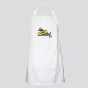Ducky on a Raft BBQ Apron