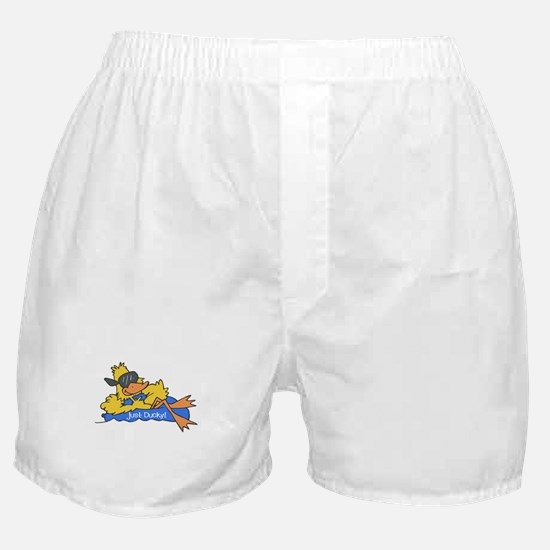 Ducky on a Raft Boxer Shorts