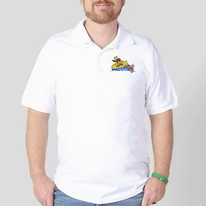 Ducky on a Raft Golf Shirt
