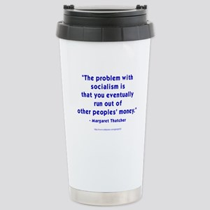 The Iron Lady Speaks Stainless Steel Travel Mug