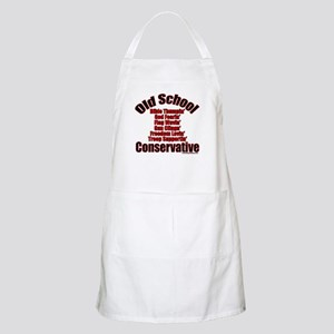 Old School Conservative BBQ Apron