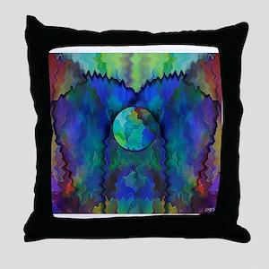 Gaia in balance Throw Pillow