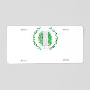 Nigeria Its In My DNA Aluminum License Plate