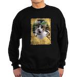 Goddess Cat Sweatshirt ((blk or navy)