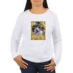 Goddess Cat Women's Long Sleeve T-Shirt