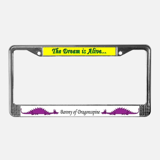 Dragonnspine Populace License Plate Frame