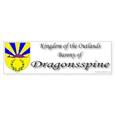 Dragonsspine Bumper Sticker