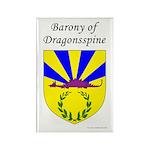 Dragonsspine Rectangle Magnet