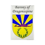 Dragonsspine Rectangle Magnet (10 pack)