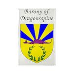 Dragonsspine Rectangle Magnet (100 pack)