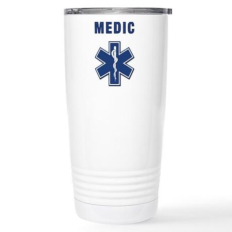 Medic and Paramedic Stainless Steel Travel Mug