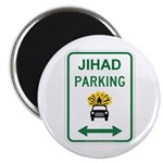 Jihad Parking Magnet
