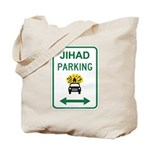 Jihad Parking Tote Bag