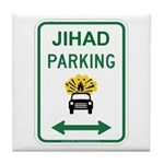 Jihad Parking Tile Coaster
