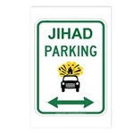 Jihad Parking Postcards (Package of 8)