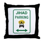 Jihad Parking Throw Pillow
