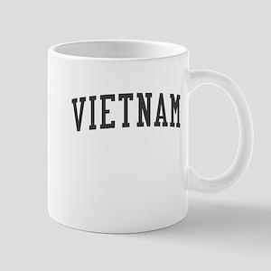Vintage Vietnam Black Mug