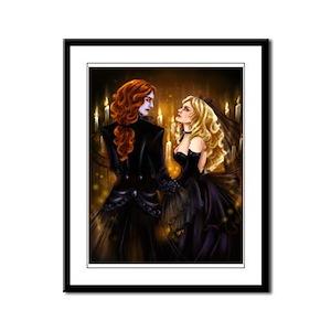 Lux Aeterna Framed Panel Print