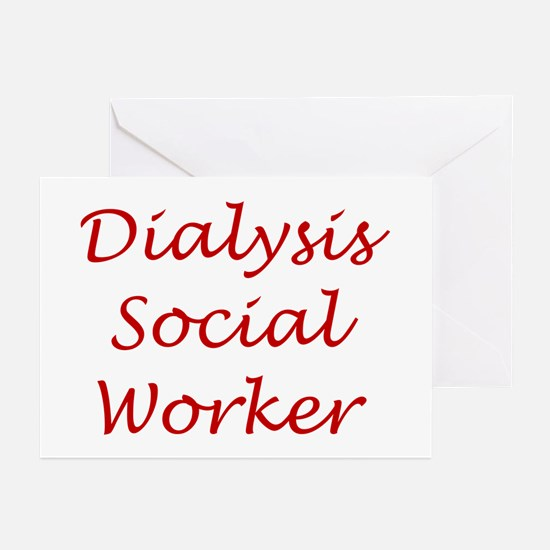 Dialysis SW Greeting Cards (Pk of 10)