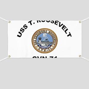 USS Theodore Roosevelt CVN 71 Banner
