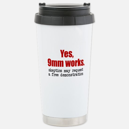 9mmWorks: Stainless Steel Travel Mug