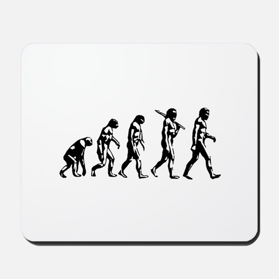 Evolution of Man Mousepad