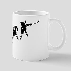 Hockey Art Slapshot Mug